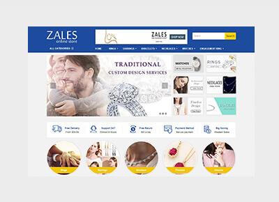 Zales Online Store