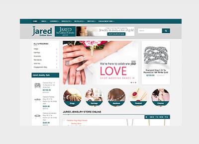 Jared Online Store
